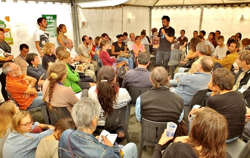 Un atelier à Alternatiba Gironde