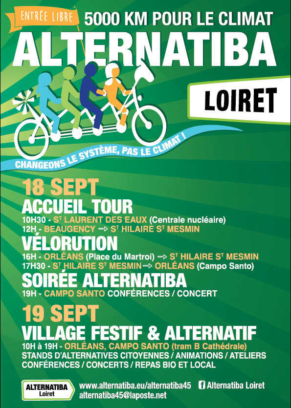 Alternatiba Loiret Orleans