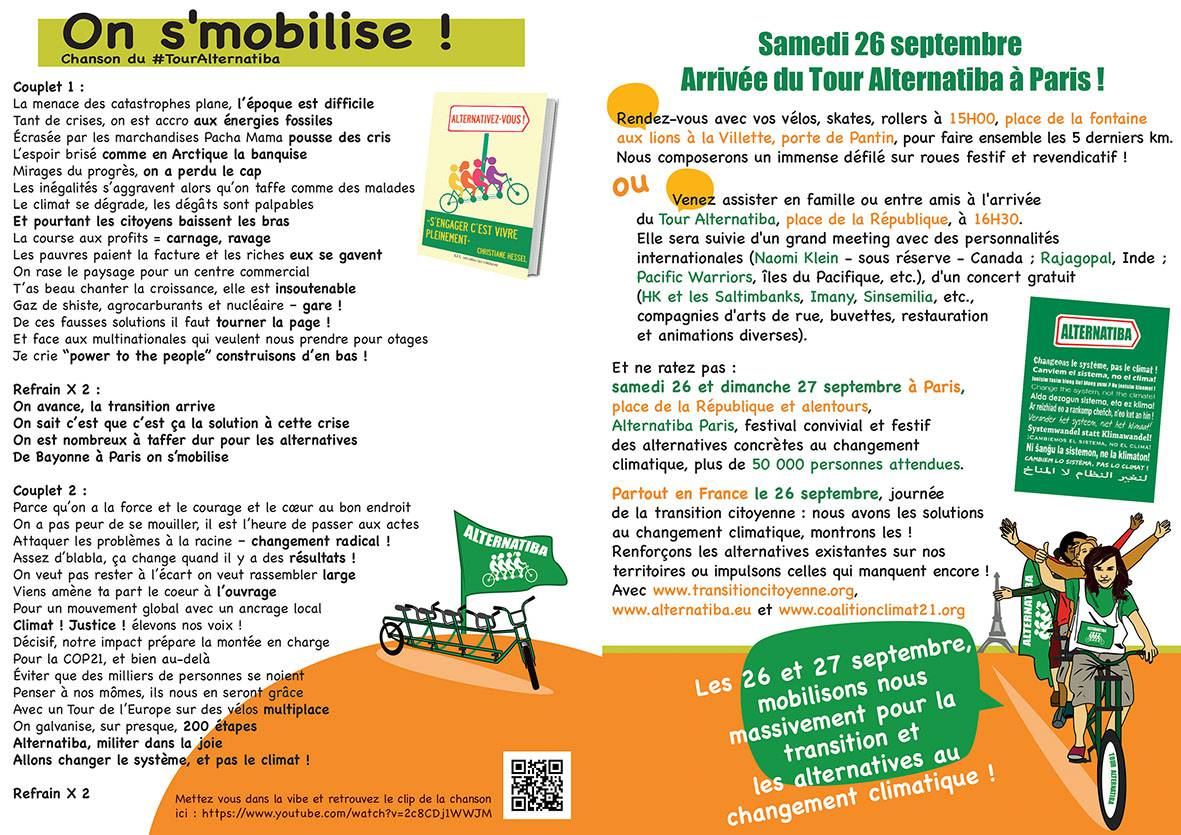 Chanson du Tour Alternatiba