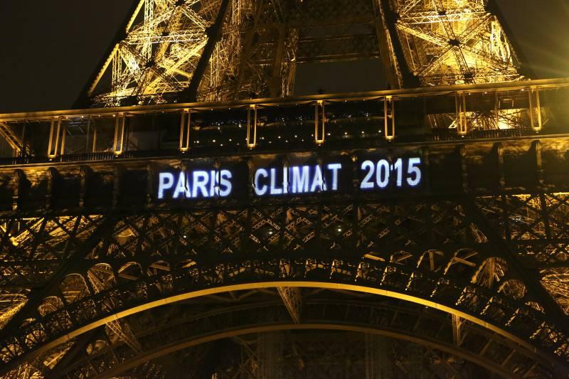Tour Eiffel COP21 Climat