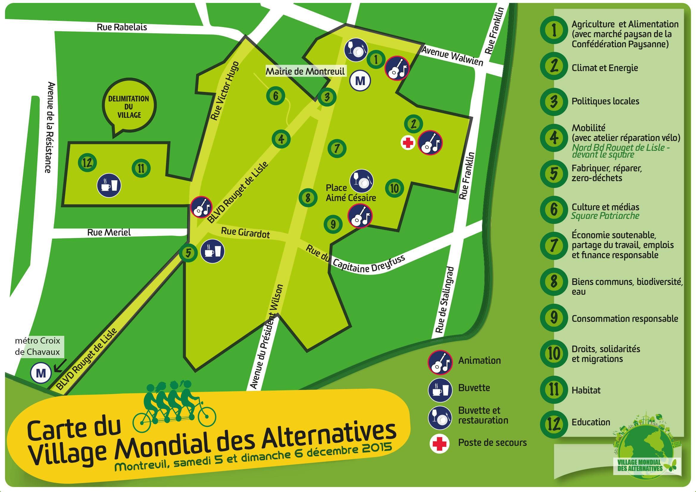 Alternatiba Montreuil  Parinux ~ Plan De Montreuil Sous Bois