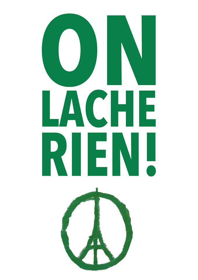on lache rien !