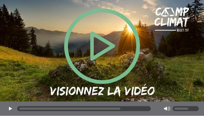 Vidéo du Camp Climat