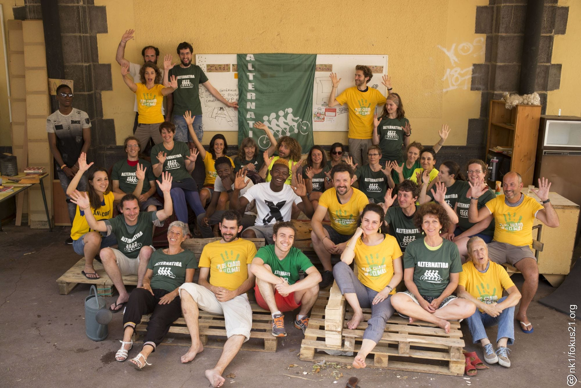 Photo collective Alternatiba ANV-COP21