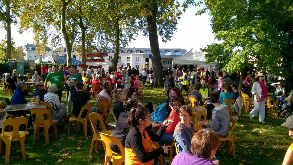 Déjeuner sur l'herbe Alternatiba Versailles