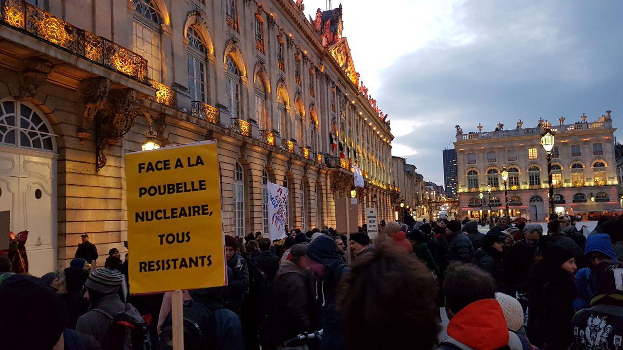 Rassemblement Stop Bure à Nancy