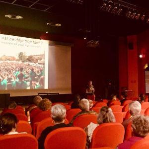 Conférence du Tour Alternatiba à Gien