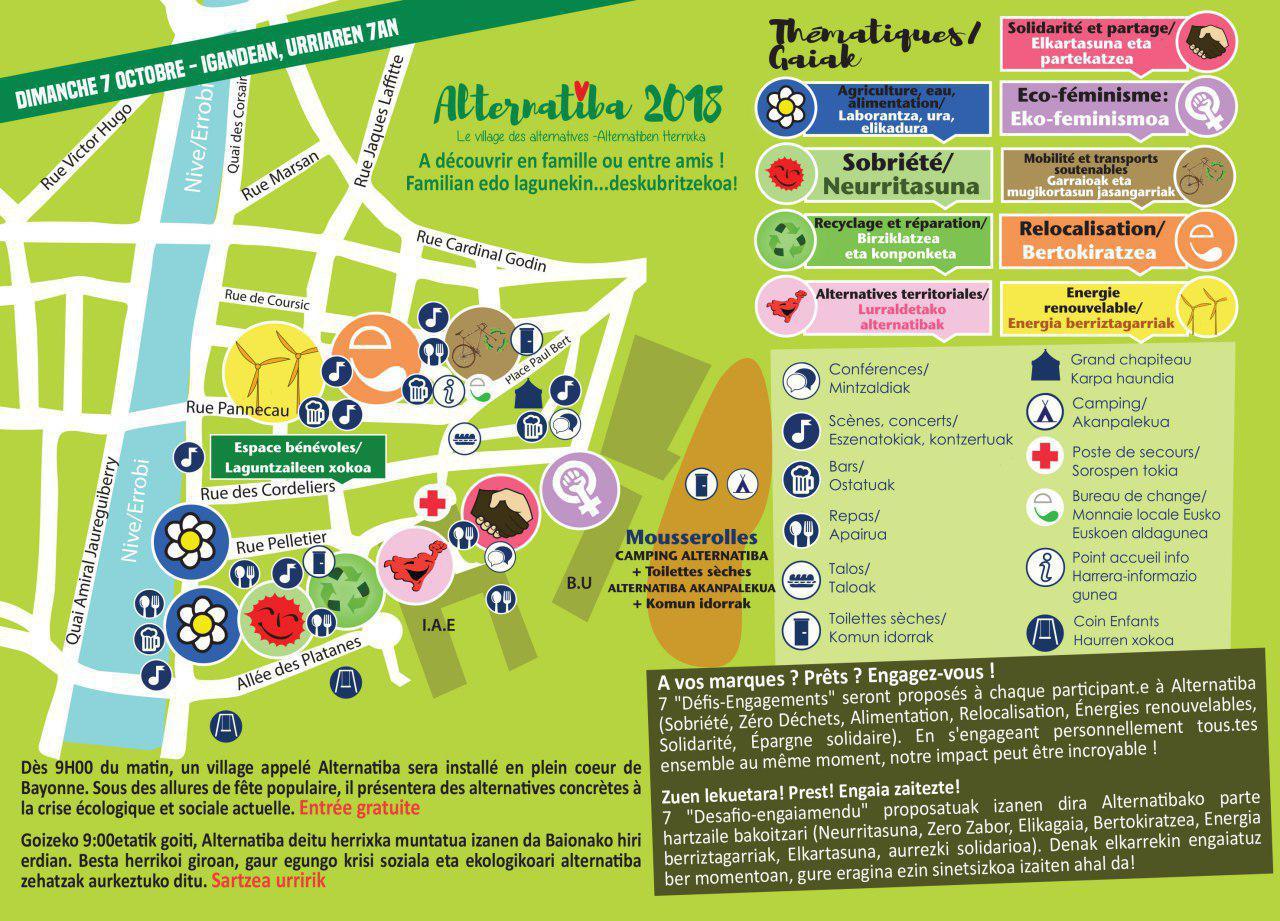 Bayonne - Programme du Village