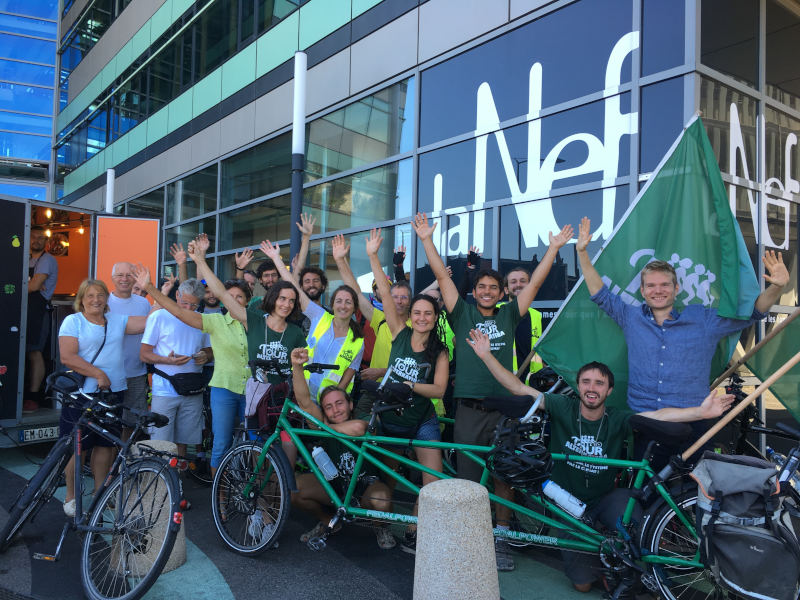 Le Tour Alternatiba à la Nef