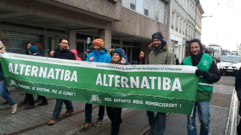 Marche pour le climat, Mulhouse, 27 janvier