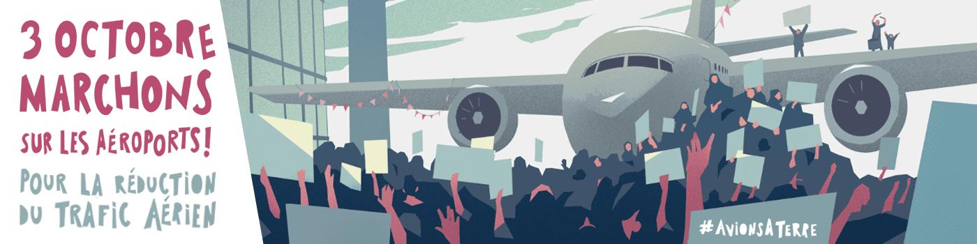 Marchons sur les aéroports