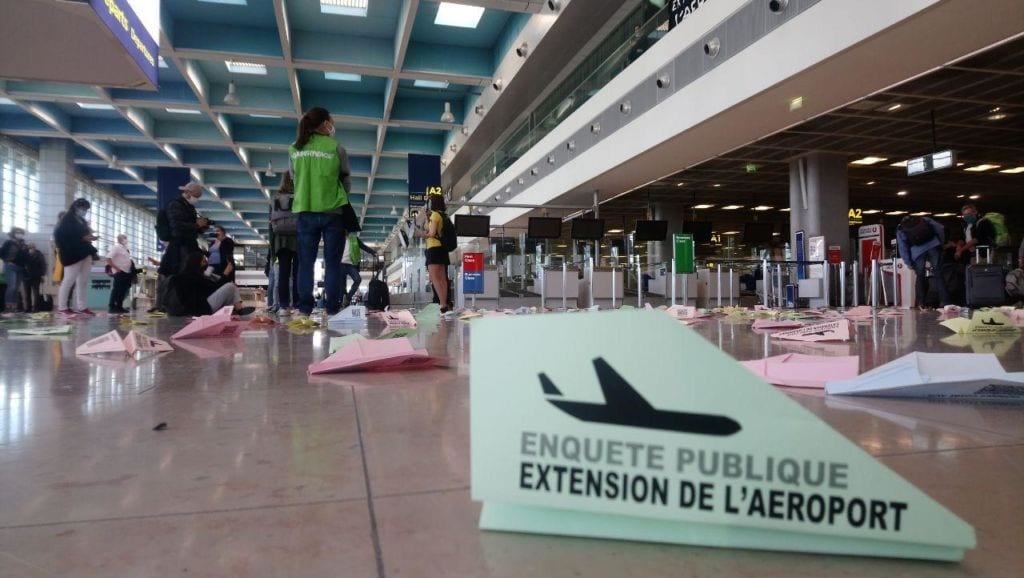 Action aéroport Marseille