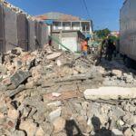 Séisme à Haïti - de nombreux bâtiments, maisons, écoles détruites